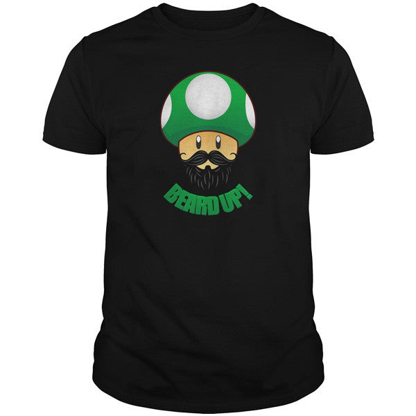 Beards - BEARD UP! - Men Short Sleeve T Shirt - SSID2016