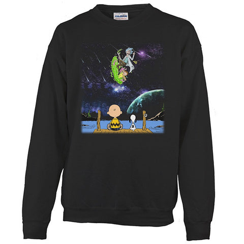 Rick And Morty - SELLING OUT FAST! - Unisex Sweatshirt T Shirt - SSID2016