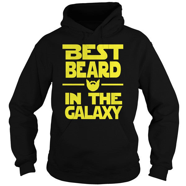 Beards - BEST BEARD IN THE GALAXY - Unisex Hoodie T Shirt - SSID2016