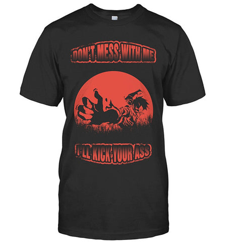 One Piece - Dont mess with me - Men Short Sleeve T Shirt - SSID2016