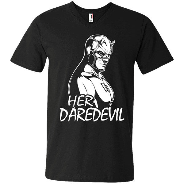 Couple Collection - Her Daredevil - Men Short Sleeve T Shirt - SSID2016