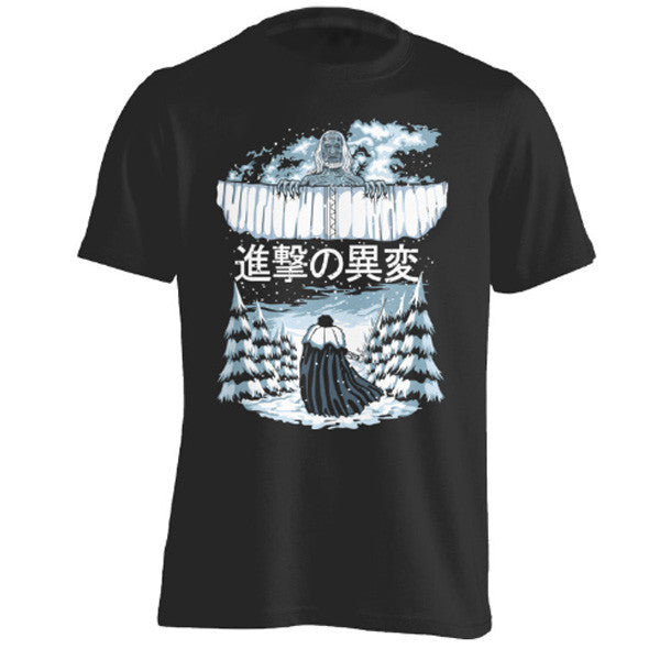Attack on titan - Attack on the Wall - Men Short Sleeve T Shirt - SSID2016