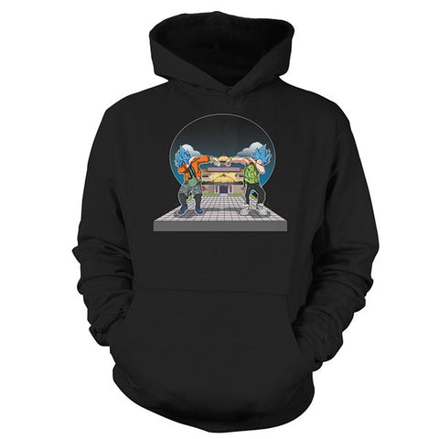 Super Saiyan - Goku and Vegeta DAB -Unisex Hoodie  - SSID2016