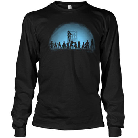 Attack on titan - Attack on Titan - Unisex Long T Shirt - SSID2016
