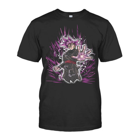 Super Saiyan - Black Goku -Men Short Sleeve T Shirt - SSID2016