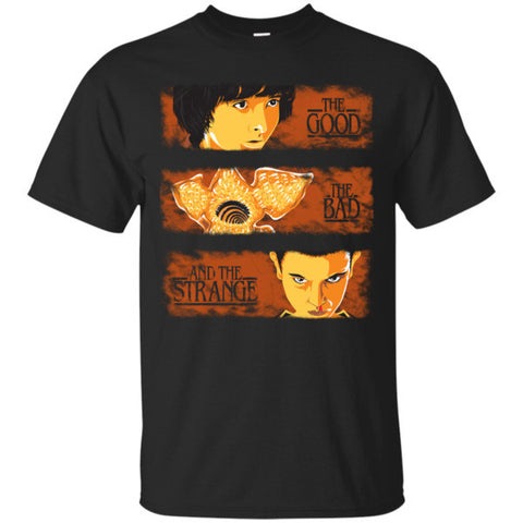Stranger Things- The good the bad and the strange -Men Short Sleeve T Shirt - SSID2016