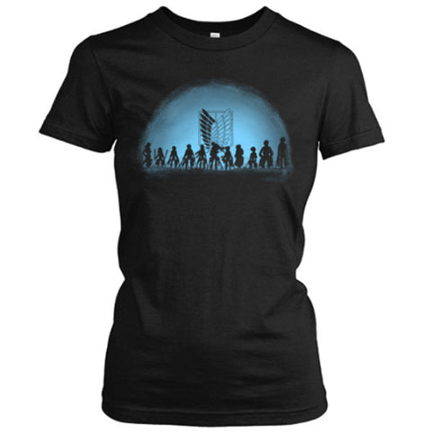 Attack on titan - Attack on Titan - Woman Short Sleeve T Shirt - SSID2016