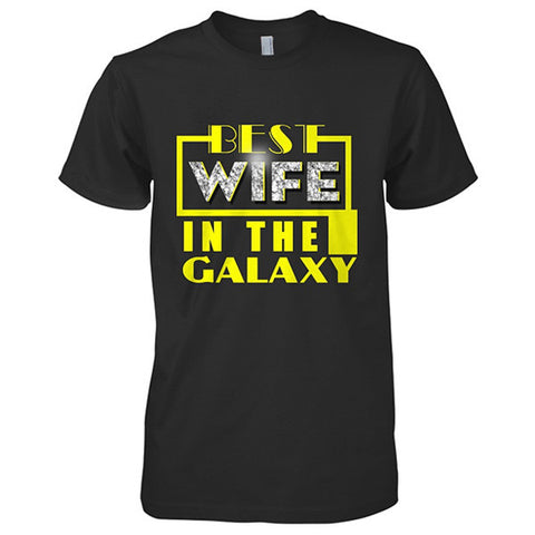 Couple Collection - Best wife in the Galaxy - Women Short Sleeve T Shirt - SSID2016