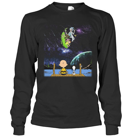 Rick And Morty - SELLING OUT FAST! - Unisex Long Sleeve T Shirt - SSID2016