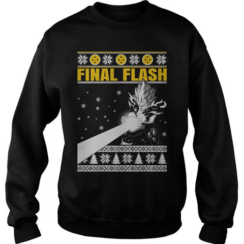 Super Saiyan - Vegeta final flash - Unisex Sweatshirt - SSID2016