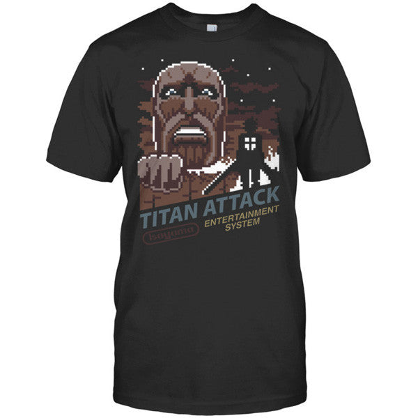 Attack on titan - TITAN ATTACK - Men Short Sleeve T Shirt - SSID2016