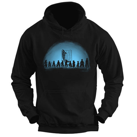 Attack on titan - Attack on Titan - Unisex Hoodie T Shirt - SSID2016
