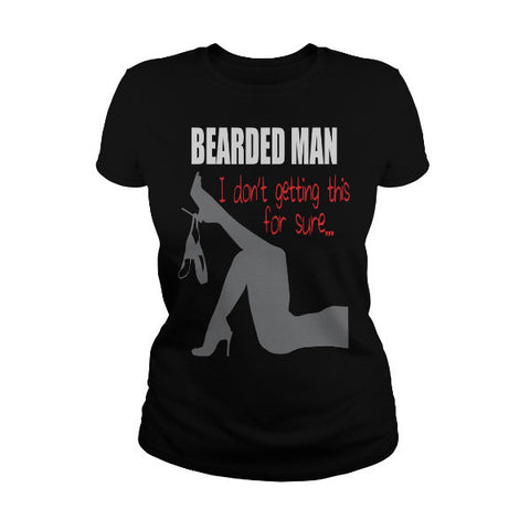Beards - bearded man i dont getting this for sure -Men Short Sleeve T Shirt - SSID2016