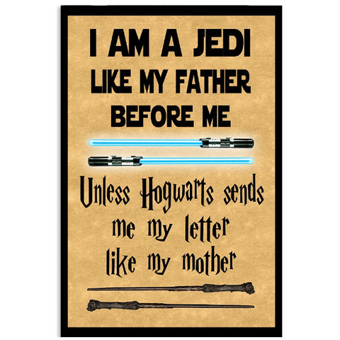 Harry Potter- I am a jedi like my father - Poster 18x24 - SSID2016