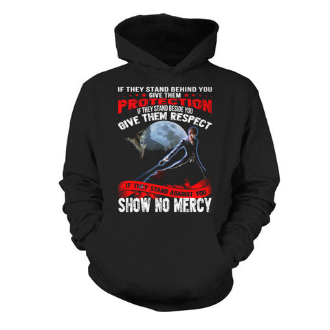 Bleach- If they stand behind you give them protection ichigo version -Unisex Hoodie - SSID2016