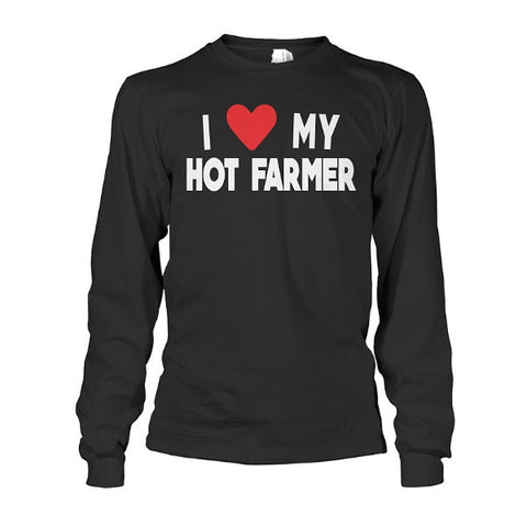 Farmer- I LOVE MY HOT FARMER -Unisex Long Sleeve - SSID2016