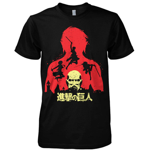 Attack on titan - Titans - Men Short Sleeve T Shirt - SSID2016