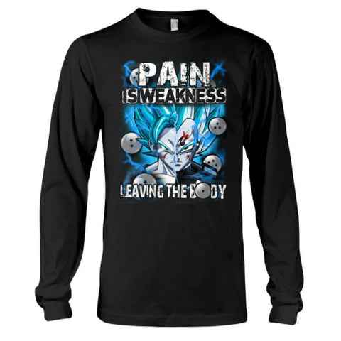 Super Saiyan - Pain sweakness leaving the body -Unisex Long Sleeve - SSID2016