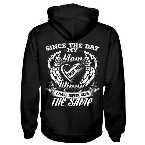 Family Shirt - Since the day my mom got her wings limited - Unisex Hoodie  - SSID2016