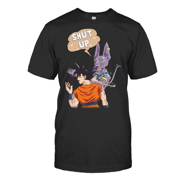 Super Saiyan - Beerus slap goku -Men Short Sleeve T Shirt - SSID2016