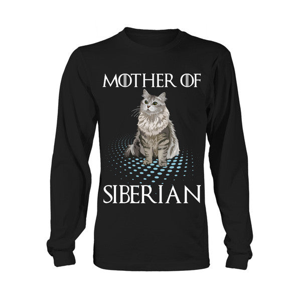 Cat - Mother of SIBERIAN -Unisex Long Sleeve - SSID2016