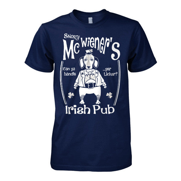 Patrick's Day - Snorty McWiener's  -Men Short Sleeve T Shirt - SSID2016