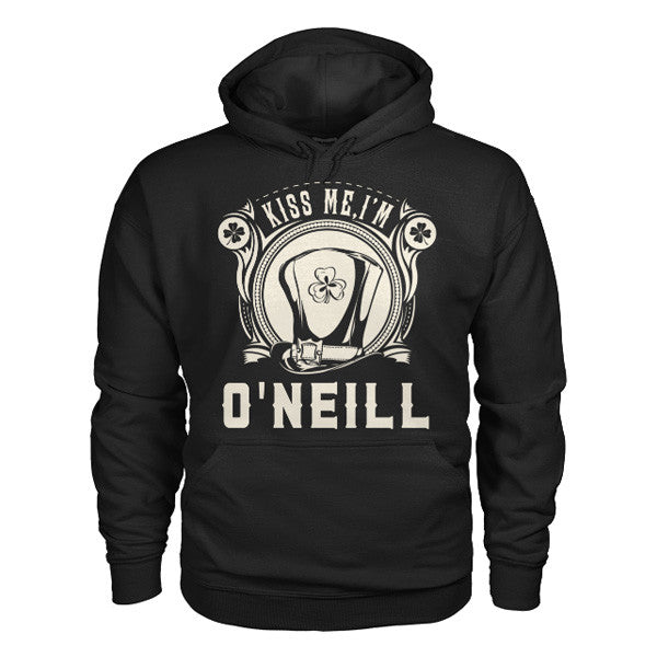 Patrick's Day - O'NEILL KISS ME -Unisex Hoodie  - SSID2016