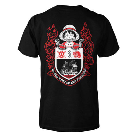 One Piece - Be the king of the pirates -Men Short Sleeve T Shirt - SSID2016