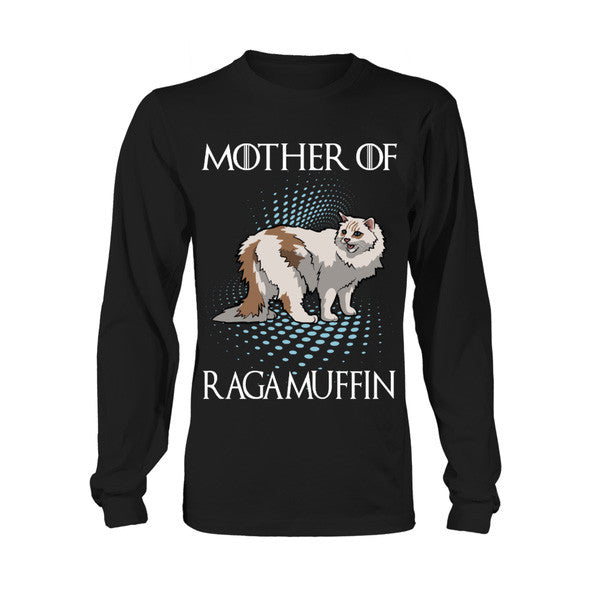 Cat - Mother of RAGAMUFFIN -Unisex Long Sleeve - SSID2016