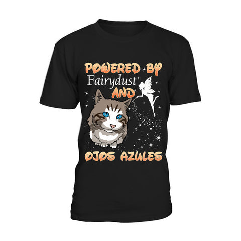Cat - OJOS AZULES -Men Short Sleeve T Shirt - SSID2016