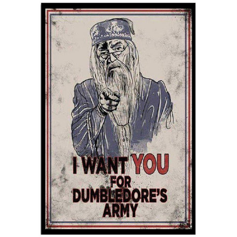 Harry Potter- i want you for dumbledore's army -Poster 18x24 - SSID2016