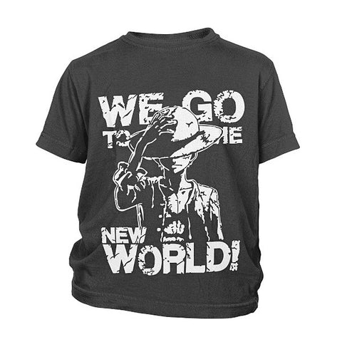 One Piece - New World - Youth Kid T Shirt - SSID2016