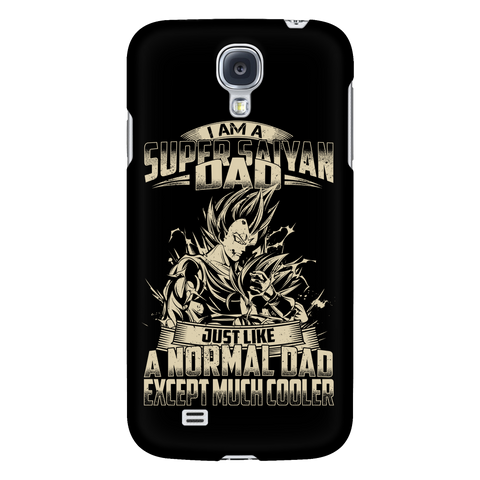 Super Saiyan Vegeta and Trunks Dad Android Phone Case - TL00460AD