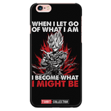 Super Saiyan Goku Warrior iPhone 5, 5s, 6, 6s, 6 plus, 6s plus phone case - TL00039PC-BLACK