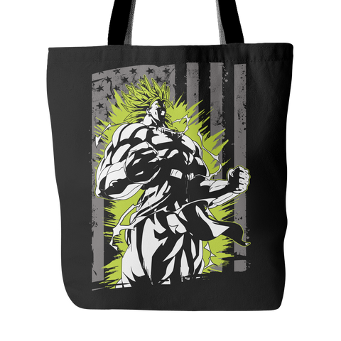 American Super Saiyan Broly Tote Bag - TL00001TB - The TShirt Collection