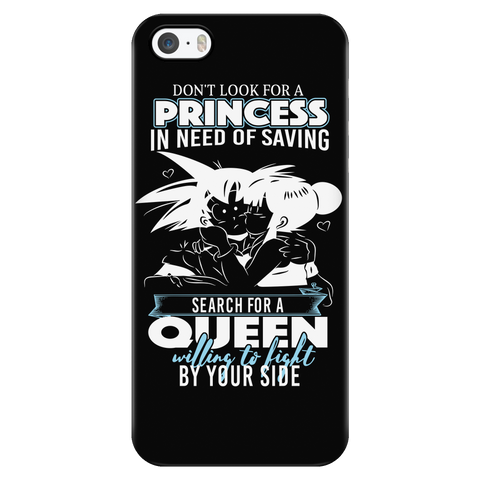 Super Saiyan - Goku search for a queen - Iphone Phone Case - TL01110PC