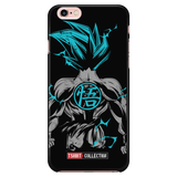 Super Saiyan Goku God Blue Back iPhone 5, 5s, 6, 6s, 6 plus, 6s plus phone case - TL00243PC-BLACK