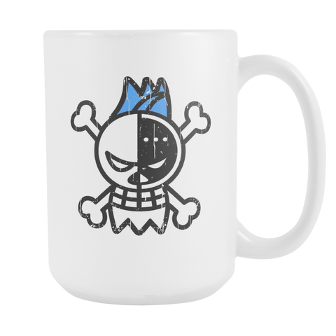 One Piece - Franky symbol - 15oz Coffee Mug - TL00908M5