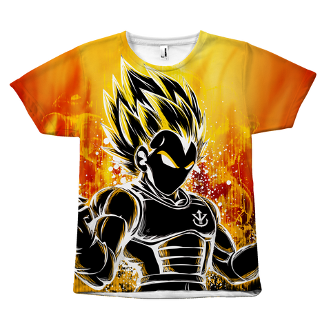 Super Saiyan - Super Saiyan Vegeta - All Over Print T Shirt - TL00956AO