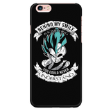 Super Saiyan - Behind me smile is something you could never understand - Iphone Phone case - TL01220PC