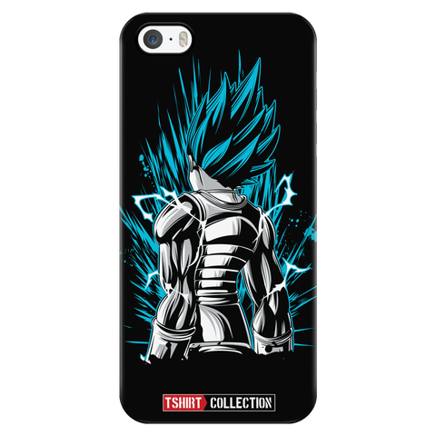 Super Saiyan Vegeta God Blue iPhone 5, 5s, 6, 6s, 6 plus, 6s plus phone case - TL00021PC-BLACK