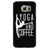 Yoga - Yoga And Coffee - Android Phone Case - TL00891AD