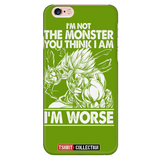 Super Saiyan Broly iPhone 5, 5s, 6, 6s, 6 plus, 6s plus phone case - TL00019PC-GREEN