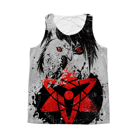 Naruto - Sasuke - 1 Side 3D Tank Top T Shirt Tank - TL01014AT