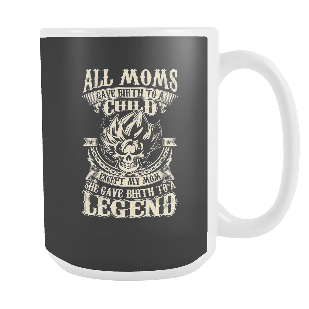 Super Saiyan Goku Mom 15oz Coffee Mug - TL00033M5