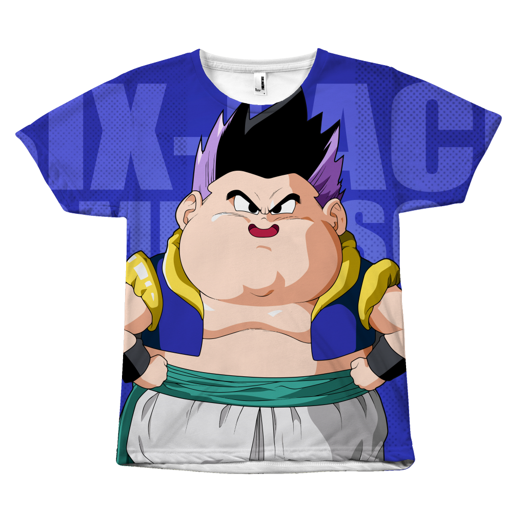 Super Saiyan - Gotenks Six-Pack Coming Soon - All Over Print T Shirt - TL00940AO