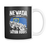 Super Saiyan Nevada Grown Saiyan Roots 11oz Coffee Mug - TL00155M1