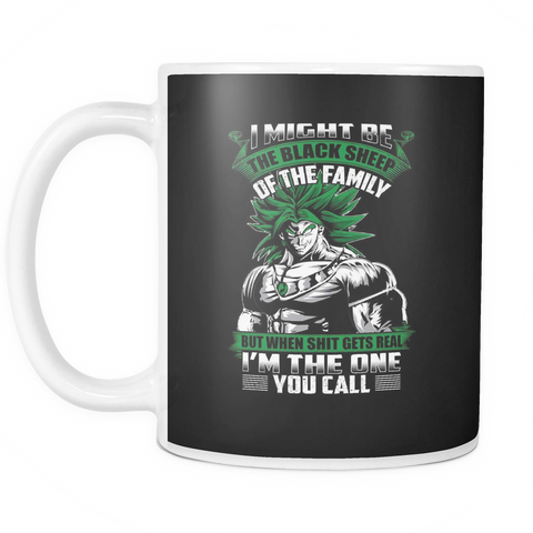 Super Saiyan - Broly is not a black sheep - 11oz Coffee Mug - TL01217M1