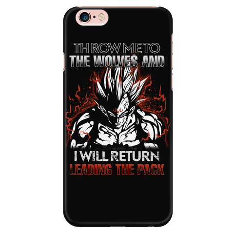 Super Saiyan - Majin Vegeta I will return - Iphone Phone Case - TL01294PC