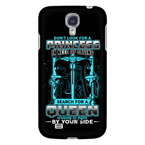 SAO - Don't look for a princess in need of saving search for a queen willing to fight by you side - Android Phone Case - TL01090AD